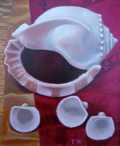 Teresa Winchester - Three Shells on a Sari