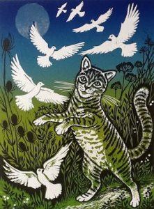 Teresa Winchester - Cat at play