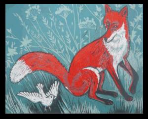 Fox and a Bird