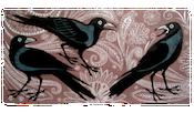 Kerala crows print