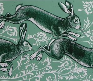 Teresa Winchester - The Hares are running