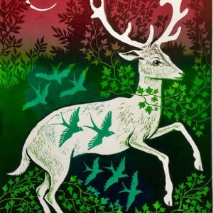 Teresa Winchester - Stag-and-Birds