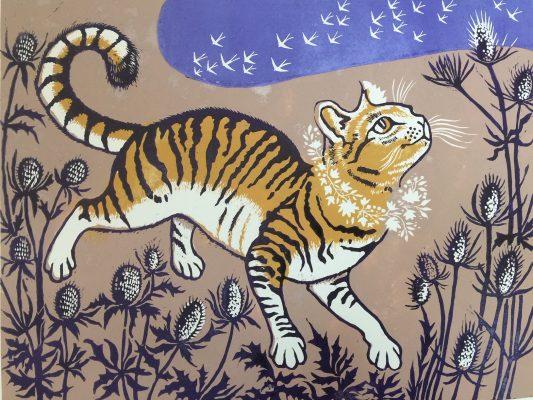 Burdock cat